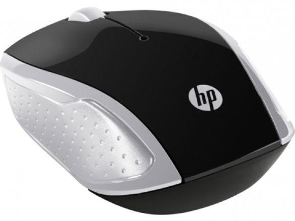 HP 200 Pk Silver Wireless Mouse ( 2HU84AA ) - 0