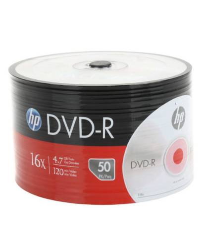 HP DVD-R 4.7GB 50li Spindle DME00070-3 - 0