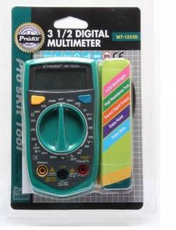 PROSKIT DIGITAL MULTİMETRE (MT-1233D)