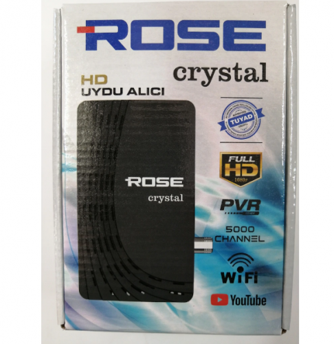 ROSE CRYSTAL HD UYDU ALICI - 1
