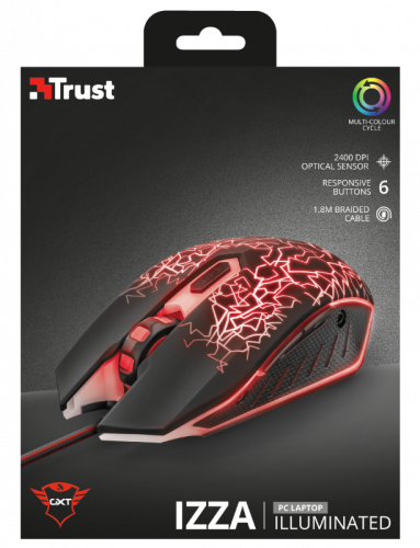 Trust 21683 GXT 105 GAMING Mouse TRU21683 - 0