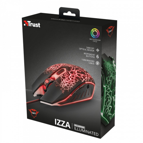 Trust 21683 GXT 105 GAMING Mouse TRU21683 - 1