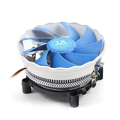 TX SLIENT WIND 120 775/115x AM2/AM2+/AM3/AM3+ CPU COOLER (TXCCSW120) - 1