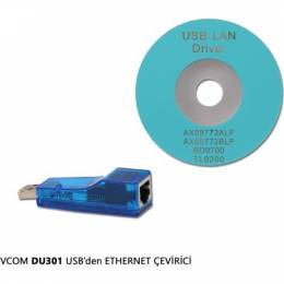 Vcom Du301 Usb To Ethernet Çevirici Vcom